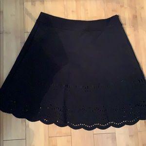 Loft laser cut skirt